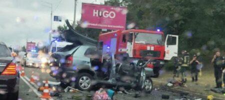 Водителю, убившему под Киевом семью из четырех человек, сообщили о подозрении