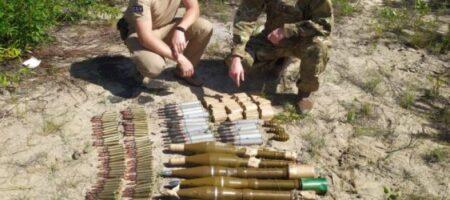 СБУ обнаружила схрон боевиков с противотанковыми минами