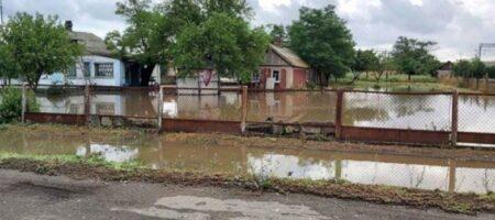 На Херсонщине село ушло под воду