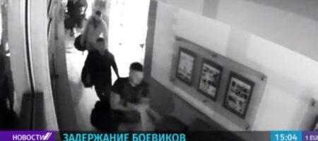 Опубликовано ВИДЕО задержания российских боевиков под Минском