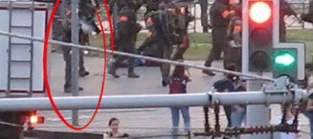 В Сети слили видео стрельбы по журналистке в Минске