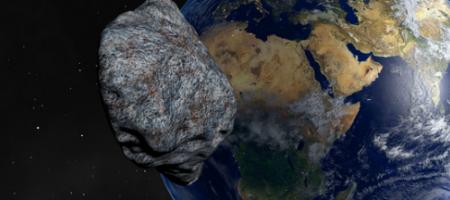 Очень большой астероид опасно приближается к Земле