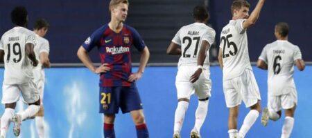 Лига Чемпионов: Бавария уничтожила Барселону, забыв 8 голов