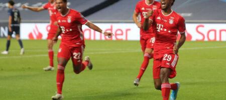 Бавария победила ПСЖ и выиграла Лигу чемпионов