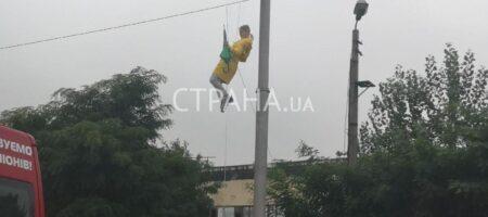 Вместо Верещук для предвыборного ролика с зонтиком в небо отправили дублершу - СМИ (ФОТО)