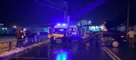 В Харькове «скорая» попала в страшное ДТП: есть травмированные