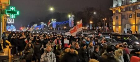 "В Минске собирают ""Партизанский Марш"""