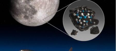 NASA обнаружило воду на солнечной стороне Луны
