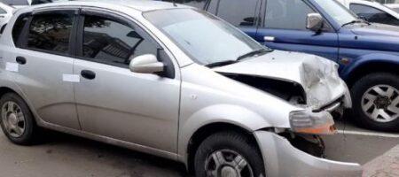 В Одессе женщина устроила эпичное ДТП, угнав авто у таксиста (ВИДЕО)