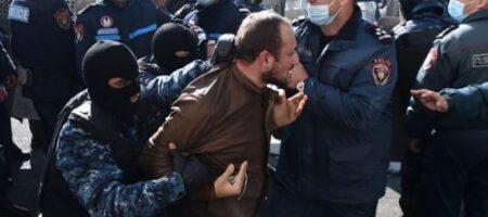 Бунт в Ереване: силовики задержали около 130 активистов