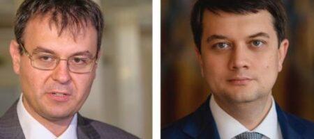 """""""Слуги народа"""" Разумков и Гетьманцев хотят бросить Зеленского и создать свою партию - Telegram"""