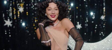 Ивлеева снялась для модного глянца в наряде от украинского дизайнера