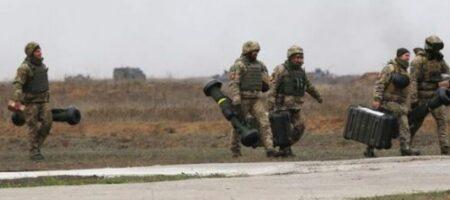 ВСУ успешно отрепетировали уничтожение боевиков с помощью ракет Javelin