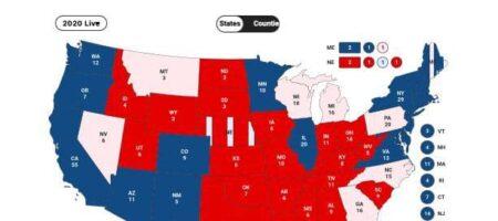 На выборах в США Байден впереди, но все может измениться.