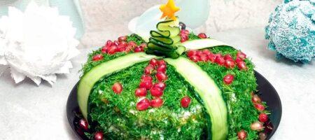 Крутой рецепт коронного салата на новогодний стол. Улетает быстрее оливье и шубы
