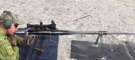 """""""Властелин горизонта"""": в Украине испытали новейшую снайперскую винтовку (ВИДЕО)"""