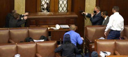 В здании Конгресса США произошла стрельба, есть раненый