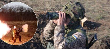 Террористы на Донбассе обстреляли ВСУ из гранатометов – штаб ООС