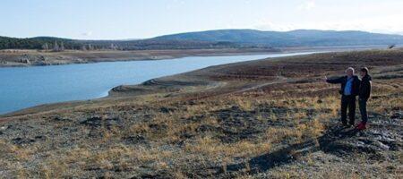 В Крыму два водохранилища полностью истощены