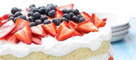 Рецепт классического торта Виктория