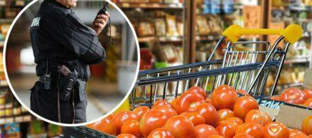 """В Киеве охранник ударил женщину в супермаркете, но она оказалась """"не промах"""""""