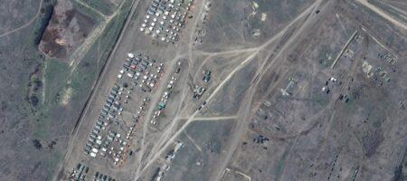 Агрессия России — в сети появились новые фото армады РФ в оккупированном Крыму