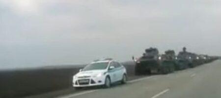 Россия гонит к украинской границе пушки даже из Центрального военного округа (ВИДЕО)
