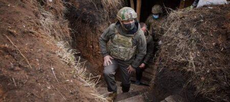 Зеленский отметился на передовой ВСУ на Донбассе (ФОТО)