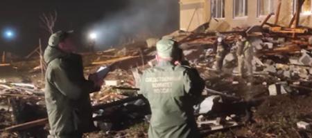 В РФ взорвался жилой 3-этажный дом (ВИДЕО)