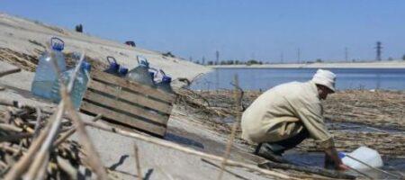 На море и без воды: оккупанты в Крыму заявили о приближении катастрофы
