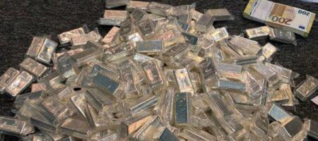 800 кг серебра и другие сокровища нашла СБУ в конвертцентре террористов (ФОТО, ВИДЕО)
