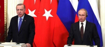 Путин созвонился с Эрдоганом за день до визита Зеленского в Турцию. Обсудили Донбасс и Черное море