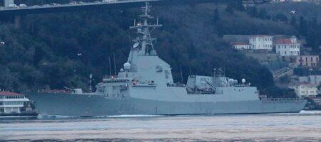 Группа военных кораблей России вошла в Черное море (ФОТО, ВИДЕО)