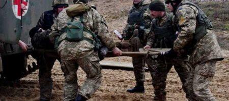Украинский защитник получил ранение на Донбассе