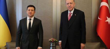Зеленский провел встречу с президентом Турции (ВИДЕО)