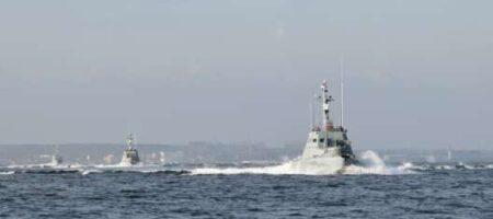 ФСБ России провоцировала украинские боевые катера в Азовском море