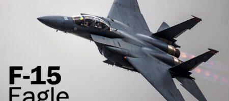 Десятки истребителей F-15 и F-16 США сели на границе с Украиной