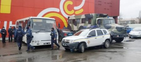 В Николаеве рынок отказался закрыться на карантин: ввели Нацгвардию