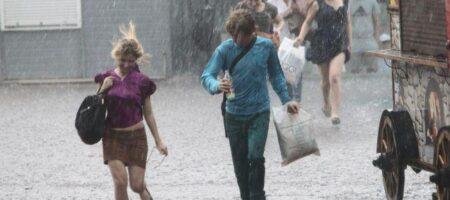 Дождь, град и сильный ветер: в Украине объявили штормовое предупреждение
