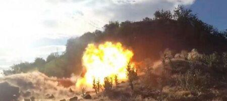 На Донбассе подорвался главарь террористов с охраной
