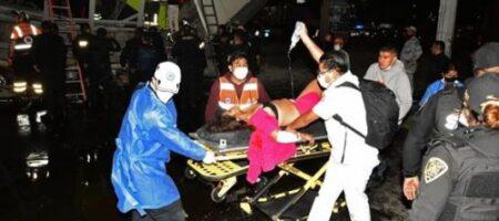 Ужас в Мехико: поезд на полном ходу сорвался с моста, погибли не менее 23 человек