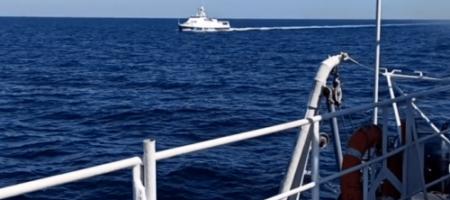 В Черном море российские корабли вмешались в украино-американские учения (ВИДЕО)