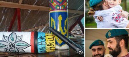 Защитники Украины трогательно поздравили сограждан с Днем вышиванки (ФОТО. ВИДЕО)