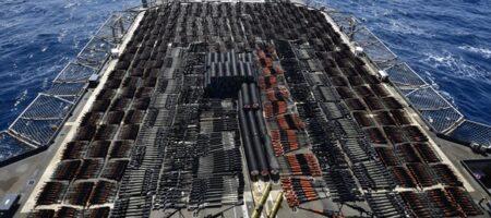 В кремле паника! ВМС США задержали судно с российским оружием