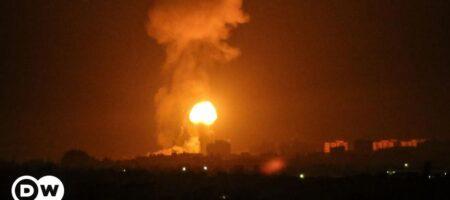 Израиль беспощадно бомбит Сектор Газа и начал наземную операцию. Это война (ВИДЕО)