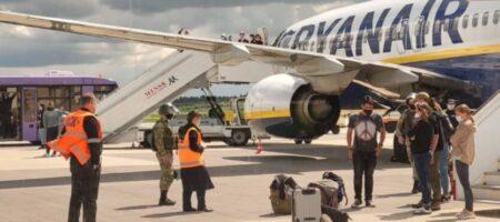 Украина отреагировала на «спецоперацию Лукашенко» по посадке самолета