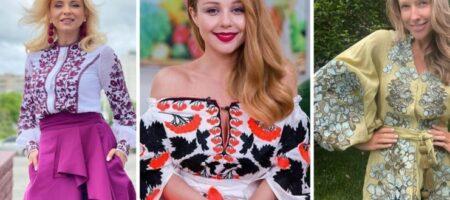День вышиванки: фотоподборка самых ярких и оригинальных образов украинских звезд в национальном стиле
