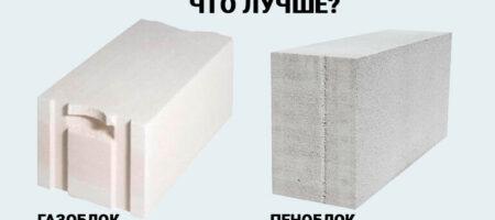 Оптимальный выбор – пенобетон или газоблоки?