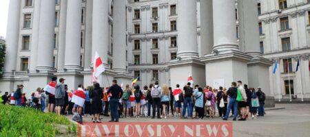 Белоруса Протасевича поддержали акцией в Киеве (ФОТО)