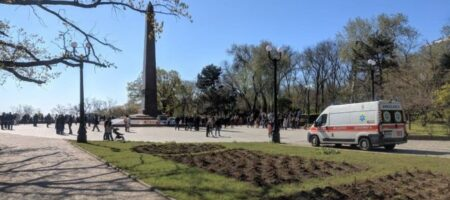 Стычки с полицией и задержания: как проходят акции к 9 мая в Одессе (КАДРЫ)